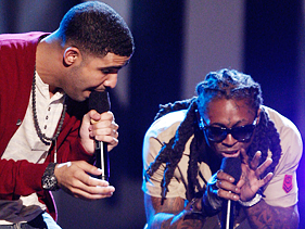 I usually like Lil Wayne, but last night the profanity laced routine he and up and coming superstar Drake did was totally inappropriate for a show that said it was paying tribute to Michael Jackson. The pair needed to fall back on that one