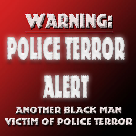 The threat level is Red-be on the look out for out of control renegade police officers in Oklahoma-What is needed here are good police officers to speak up and condemn this outrageous behavior?