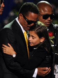 Brother Marlon Jackson and Michael's daughter Paris reminded us that Michael was not just an icon but a beloved family member who will be missed