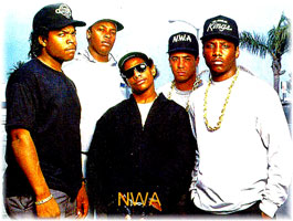 NWA helped break the stranglehold New York had on Hip Hop. They snatched the spotlight in the early 90s and made Compton Hip Hop's Mecca