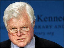 The passing of Senator Edward Kennedy meant the end of an era especially for a lot of elders and vets of the Civil Rights struggle