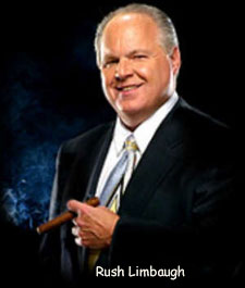 Rush Limbaugh w/ his multi-million dollar a year salary is far removed from the 'Average American'. If anything he is part of the rich elite class he supposedly rails against