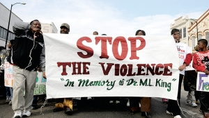 stop the violence march-web