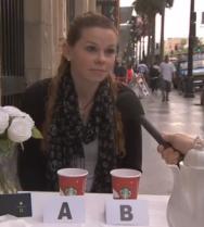 Jimmy Kimmel Starbucks Taste test..