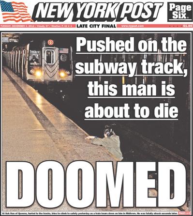 Post photo subway