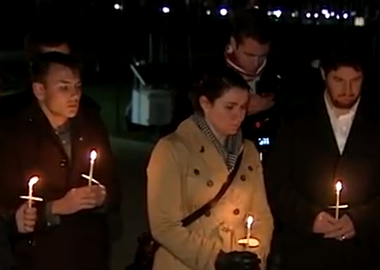 Newtown Massacre Families pray