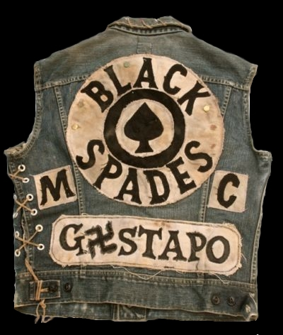 Black spades jacket