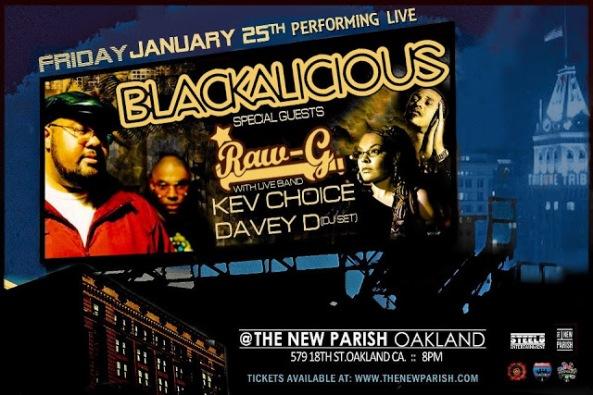 Blackalicious Flyer
