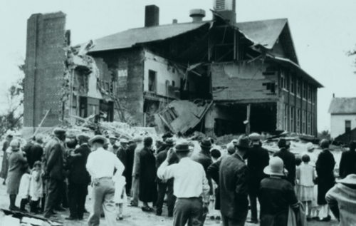 School Bombing in bath, Mi 1927