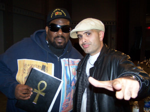 Tony Muhammad and Africa Bambaataa