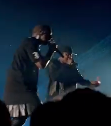 Jay-Z and Kanye