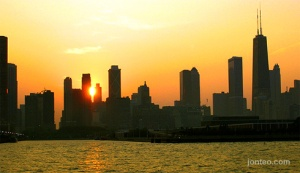 chicago_sunsetskyline