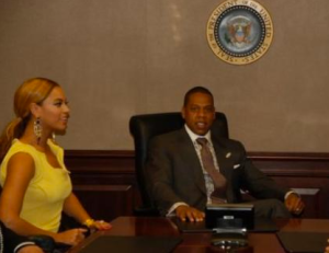 JayZ at White House