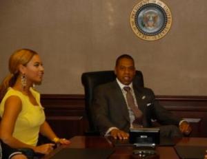 JayZ at White House