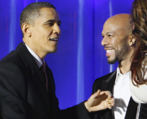 President Obama and Common