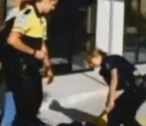 Police beating Sacramento
