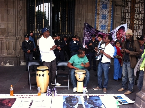 Protest In Mexico City